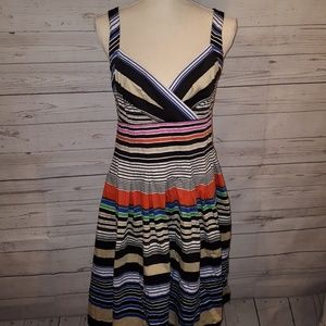 CALVIN Klein striped dress size L?